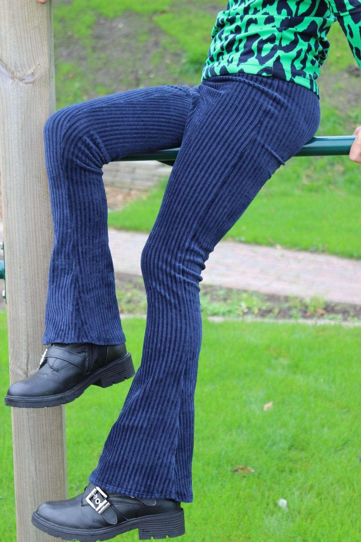 Tutorial: van Niva legging naar Flare pants
