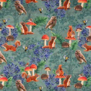 digitale tricot uilen en eekhoorn