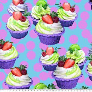 Cupcakes katoentricot