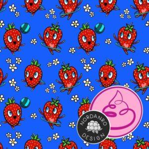 Aardbeien pinkpoo