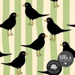 Blackbird tricot Lilla Design