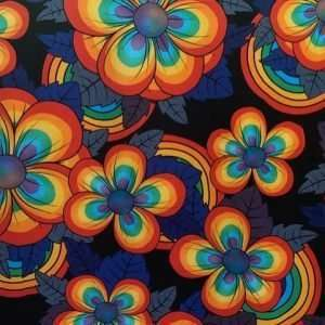 biologische bloemen meisjes tricot