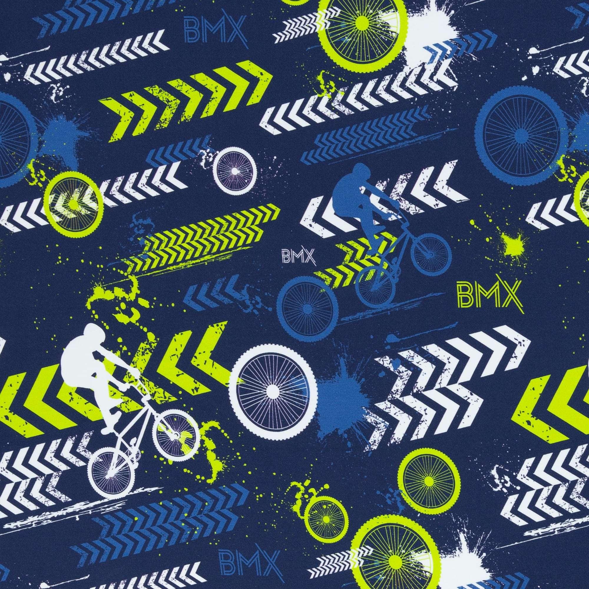 BMX blauwe french terry Streetstyle Lycklig Design Swafing