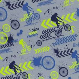 BMX Grijs french terry Streetstyle Lycklig Design