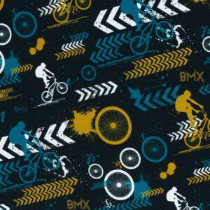 BMX french terry zwart Streetstyle Lycklig Design