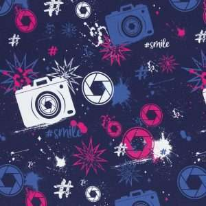 Camera french terry Lycklig Design Swafing