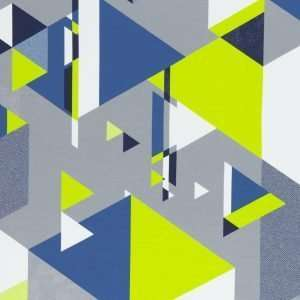 Abstract kiwigroen Streetstyle Lycklig Design French Terry