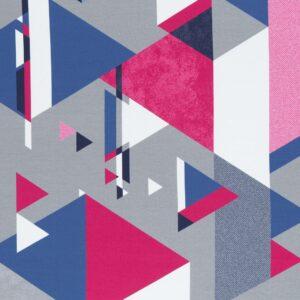 Streetstyle Lycklig Design Abstract driehoeken roze